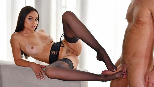 порно видео онлайн с чулками